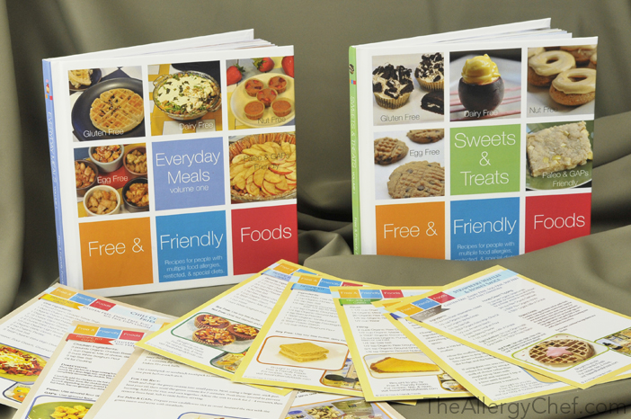 The Allergy Chef Cookbooks & Recipe Kit Cards