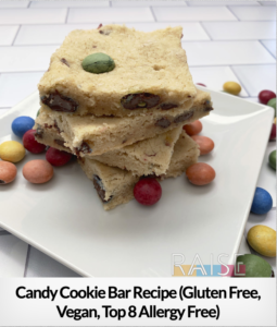 Candy Cookie Bar GF V T8