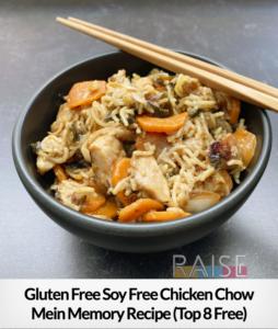 Chicken Chow Mein Memories GF T8