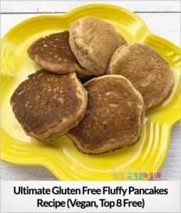 Fluffy Pancakes GF V T8