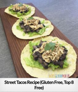 Street Tacos GF T8