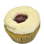 Raspberry Lemonade Mini Cupcake, GF, V, Top 8 Free, Sesame Free