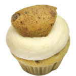 Chocolate Chip Cookie Mini Cupcake, GF, V, Top 8 Free, Sesame Free