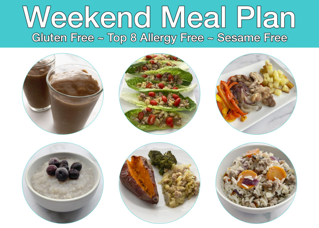 RAISE Weekend Meal Plan