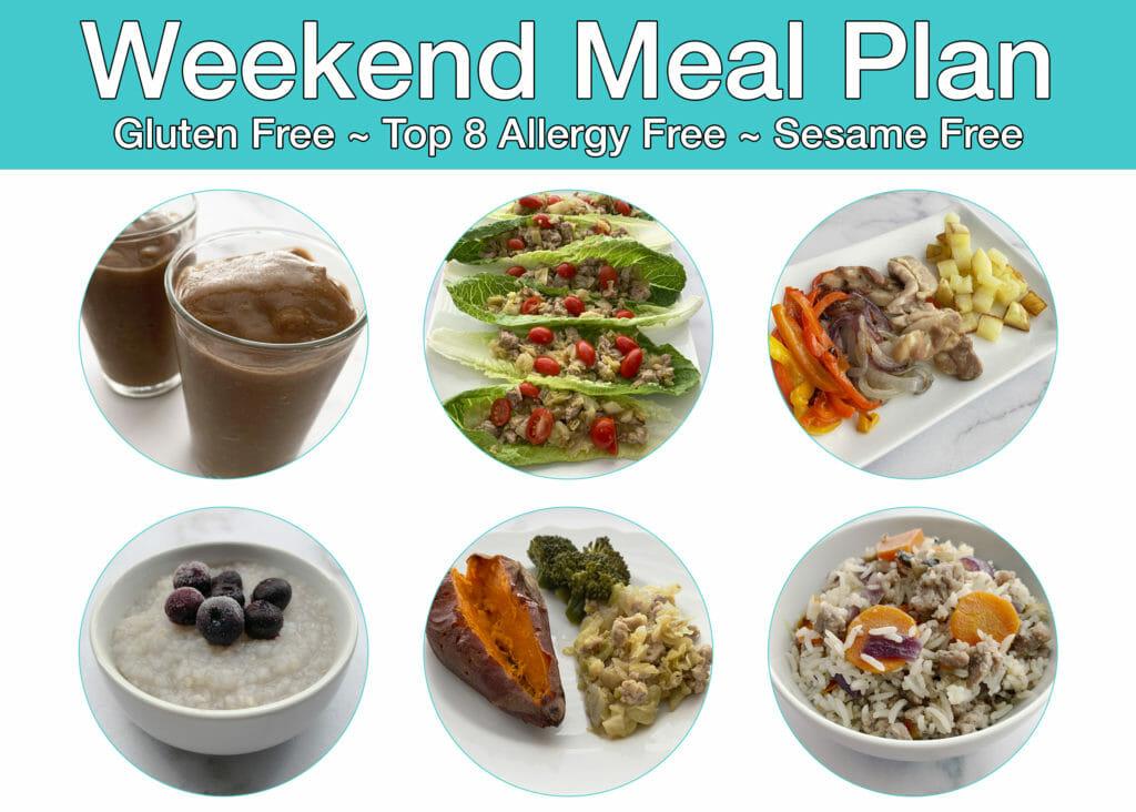 RAISE Weekend Meal Plan